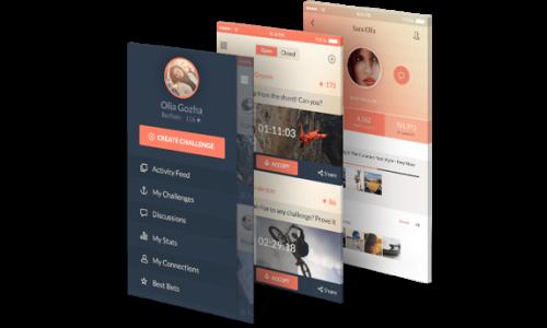 Mobile App Prototype Exaud Services