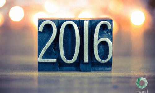 Exaud Year in Review 2016